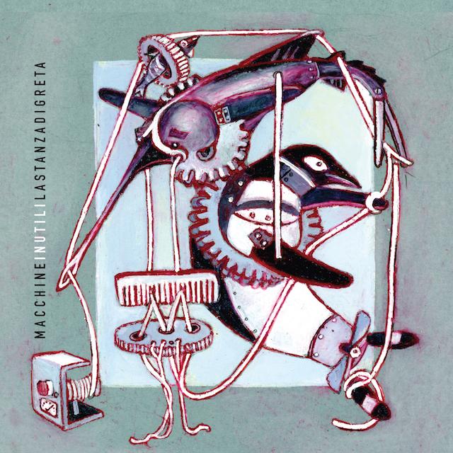 Macchine inutili - la copertina del CD